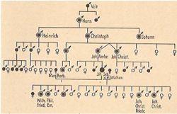 Gjenealogjia_-_Bach